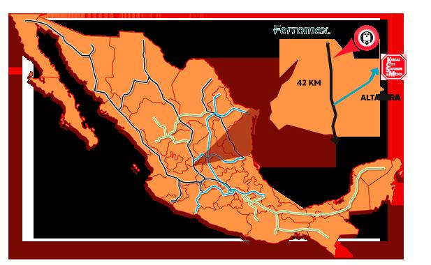 TERMNAL DE ALMACENAMIENT FERROVIARIA EN AGUASCALIENTES